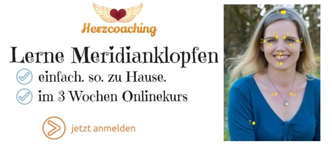 Lerne Meridianklopfen. Online. In 3 Wochen.